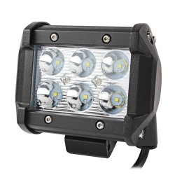 Farol Rectangular LED - 72w - 10800lumen