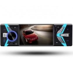 """Rádio LCD 4 """" - 1 DIN - Bluetooth - USB - Cartão SD - Aux"""