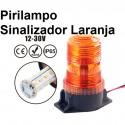 Pirilampo Sinalizador Laranja  LED