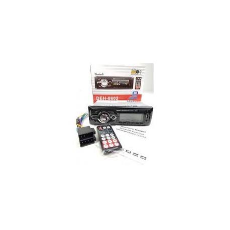 Rádio DEH-8602 Chamadas - Micro- Bluetooth -  PEN - USB - Cartão de Memória