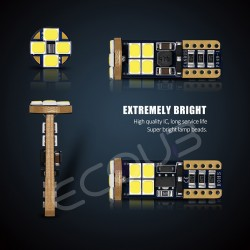 LED - W5W - T10 CANBUS - ALTO BRILHO - ANTI ERRO 100%