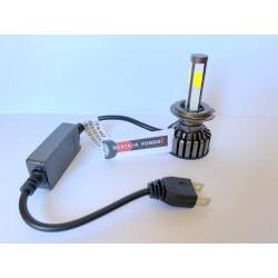 Kit LED 360º -  H1 - H7 - H4 - 8400lumen 12v 6000k