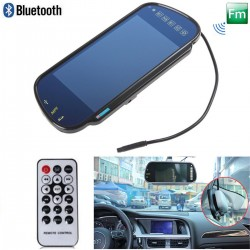 Monitor Retrovisor Smart - TV - Lig. Camara de Traseira - Bluetooth