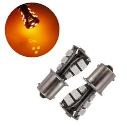 Lâmpada LED P21W (Amarelo/Pisca) Canbus