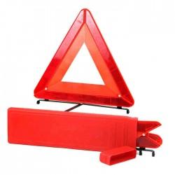 Triângulo com caixa de arrumo